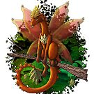 [Tea Cup Dragons] Leaf Dragon by MeaKitty