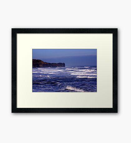 Into the Blue Yonder Framed Print