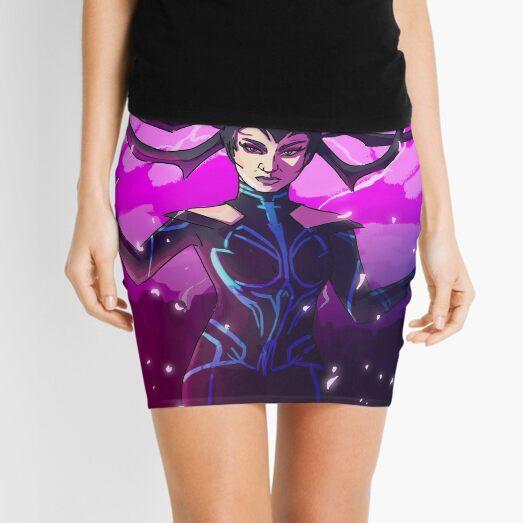 Goddess Of Death Mini Skirt