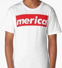 Merica Words Millennials Use Long T-Shirt