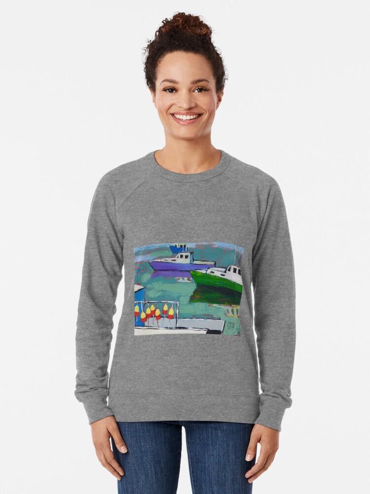 Alternate view of Celadon Voyage Lightweight Sweatshirt