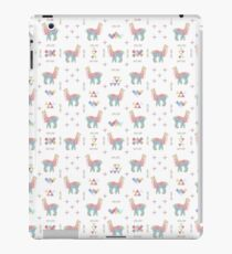 Colorful Alpaca iPad Case/Skin