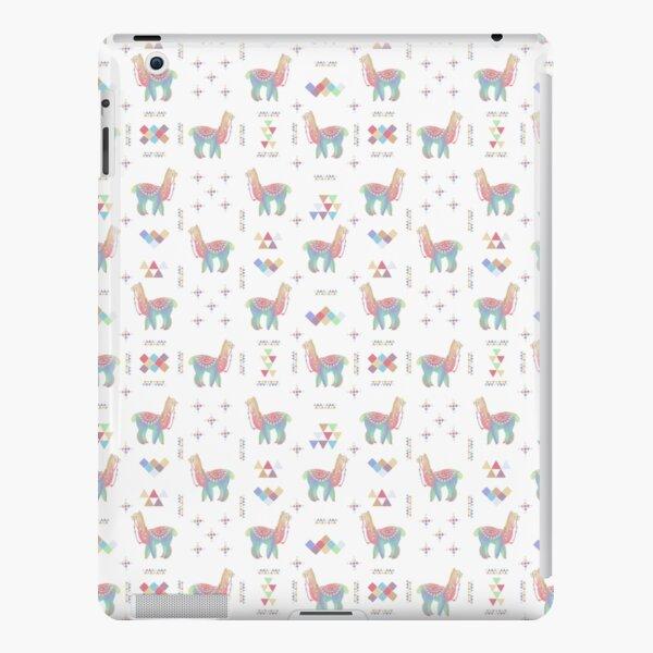 Colorful Alpaca iPad Snap Case