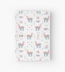 Colorful Alpaca Hardcover Journal