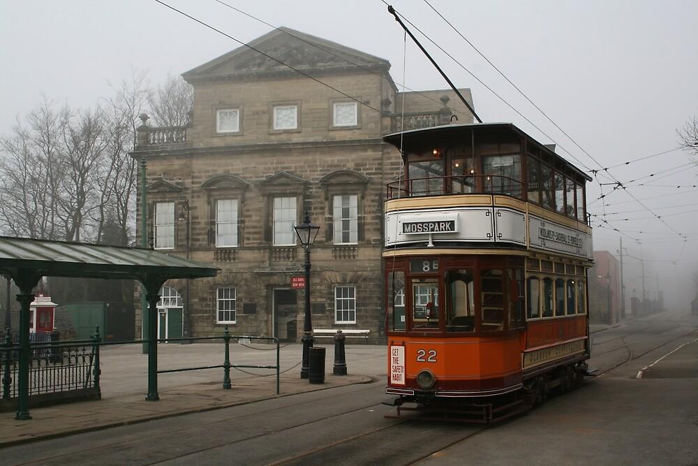 Glasgow Tramcar No 22 by RedHillDigital