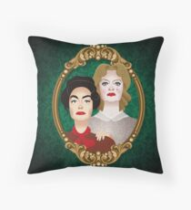 The Hudson sisters Throw Pillow