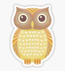 One Friendly Owl Sticker