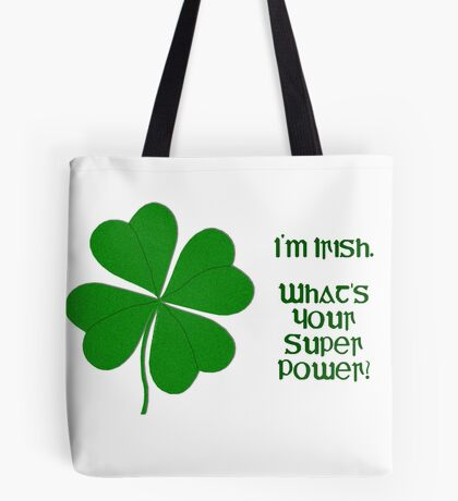 I'm Irish Tote Bag