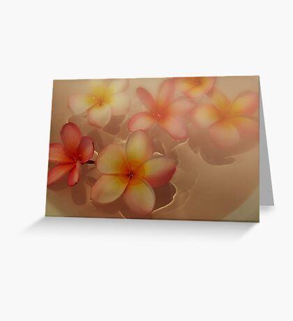 """Floating Frangi's"" Greeting Card"