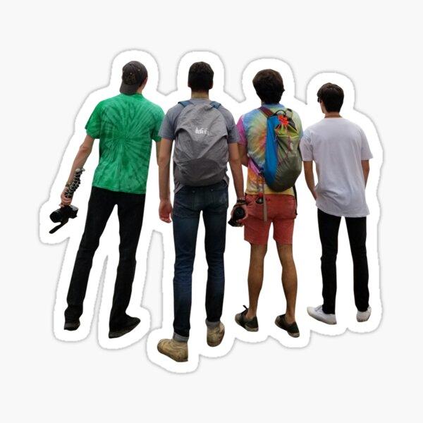 The Adventure Squad Sticker