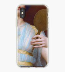 Historische griechische Mode, griechisches Frauenantiken-Malereidetail iPhone-Hülle & Cover