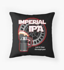 Dark Side Imperial IPA Throw Pillow