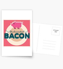 Undercooked Bacon Postcards
