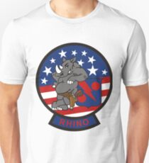 F/A-18 Rhino VFA-11 Red Rippers Unisex T-Shirt