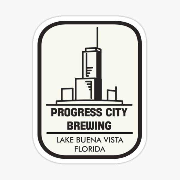 Progress City Brewing - Lake Buena Vista, FL Sticker