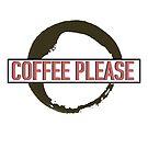 Kaffee bitte Kaffee Fleck von alydee