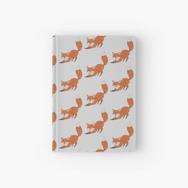 Playful Fox Hardcover Journal