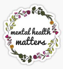 Pegatina Asuntos de salud mental