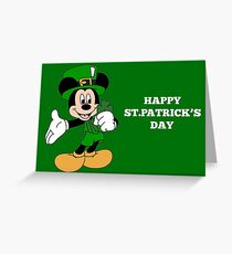 Cute St. Patricks Day Greeting Card