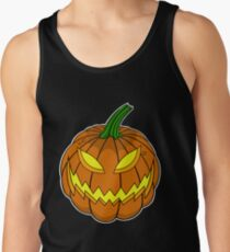 Spooky Pumpkin Tank Top