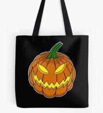 Spooky Pumpkin Tote Bag