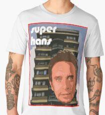 Peep Show Super Hans 70's poster Men's Premium T-Shirt