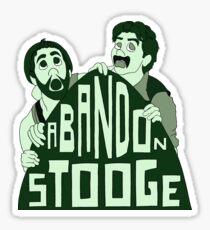 Abandon Stooge Sticker