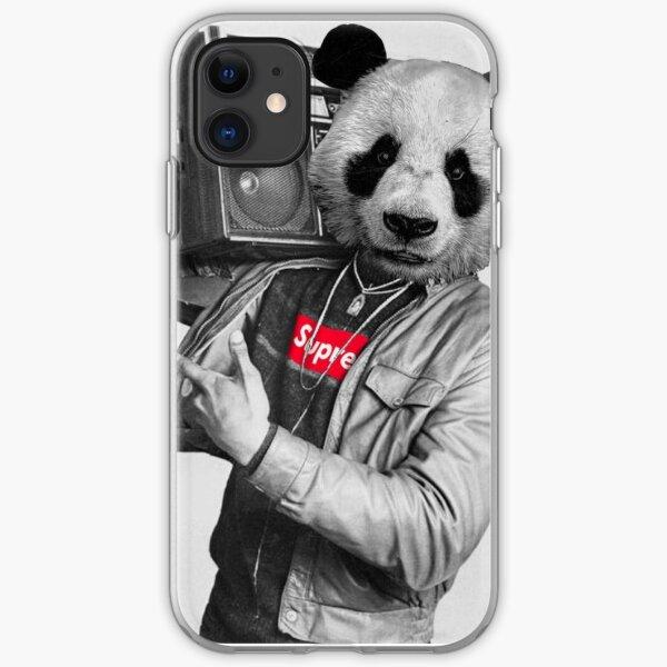 Hip Hop Panda iPhone Soft Case