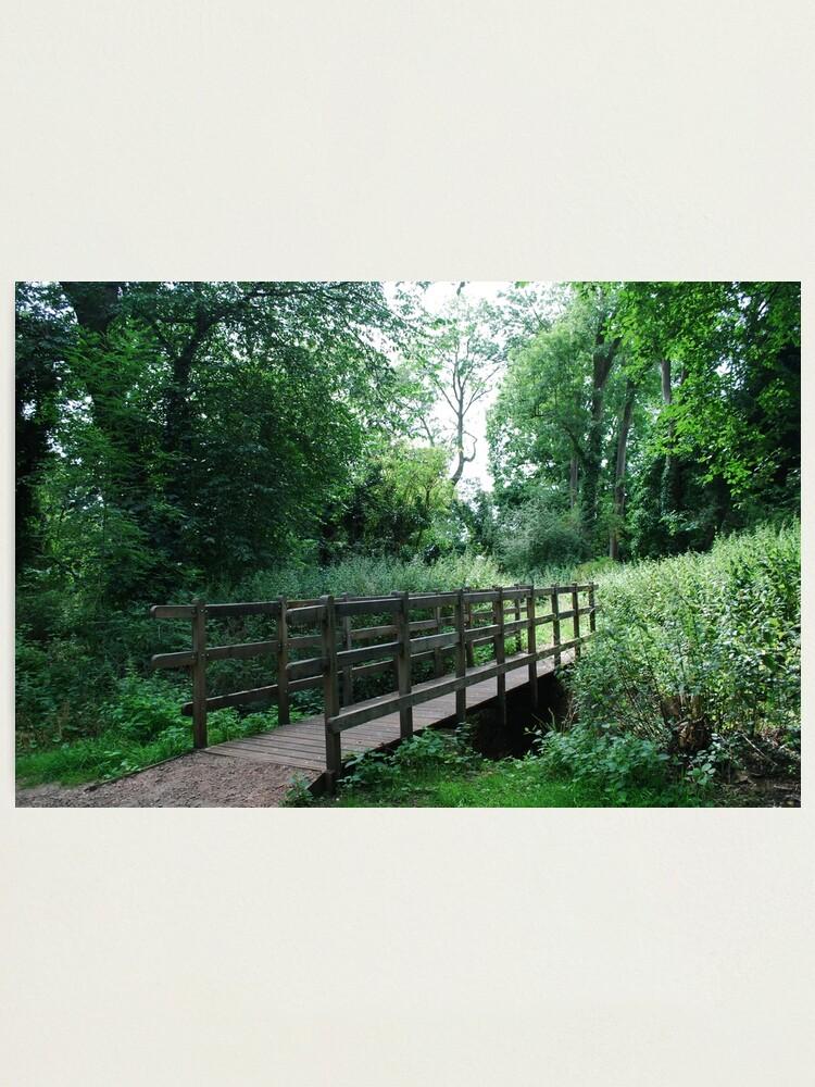 Alternate view of Wooden Bridge Photographic Print