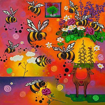 Bees by Manter-Bolen