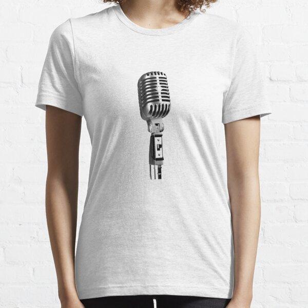 Classic Retro Microphone Essential T-Shirt