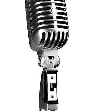 Classic Retro Microphone by IslandTs