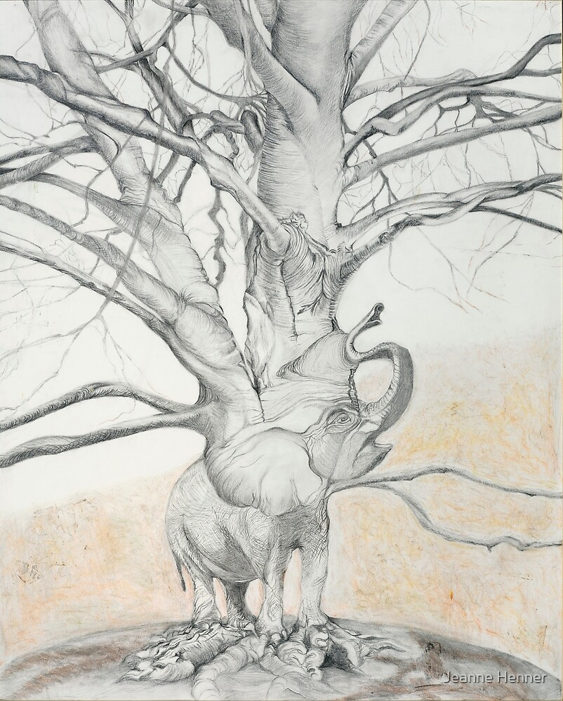 Elephant Tree by Artsynthesis