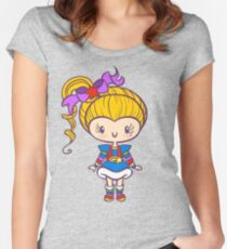 Prism Girl Fitted Scoop T-Shirt