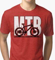 MTB - Mountainbike Tri-blend T-Shirt