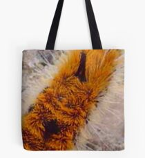 orange caterpiller Tote Bag