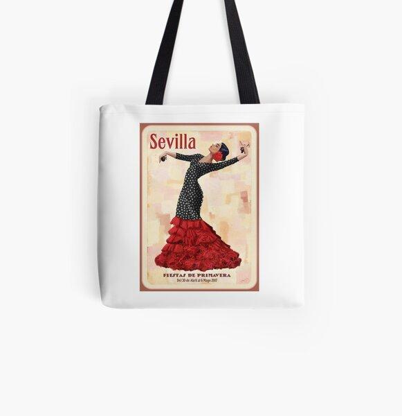 Seville April Fair Bolsa estampada de tela