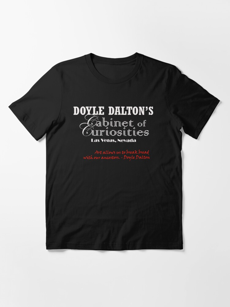 Alternate view of Jamie Poole: Doyle Dalton's Cabinet of Curiosities Essential T-Shirt