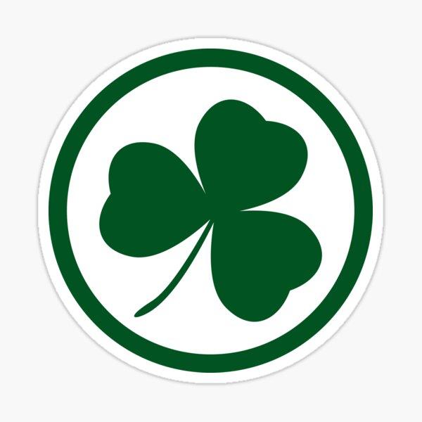 St. Patricks Day Shamrock Sticker