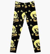 Poison Skull Leggings