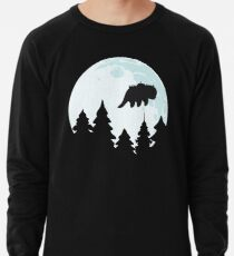 Flying By Moonlight Lightweight Sweatshirt