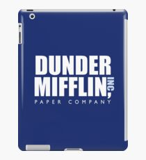Dunder Mifflin The Office Logo iPad Case/Skin
