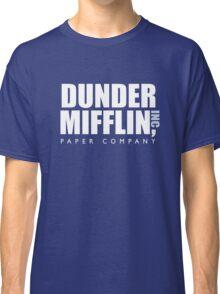 Dunder Mifflin The Office Logo Classic T-Shirt