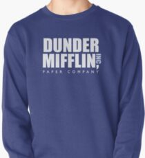 Dunder Mifflin The Office Logo Pullover