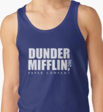 Dunder Mifflin The Office Logo Tank Top