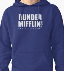 Dunder Mifflin The Office Logo Pullover Hoodie