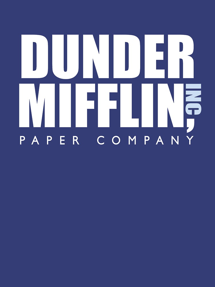 Dunder Mifflin The Office Logo | Unisex T-Shirt