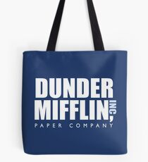 Dunder Mifflin The Office Logo Tote Bag