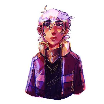 white-haired keith cause i love it!!! by skythecoolbean