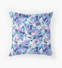 Abstract - Pink Sky At Night Floor Pillow